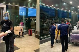 Thirty-five stranded Filipinos in Myanmar joined a special relief flight back home on Thursday, the DFA said on Friday, June 26./DFA/