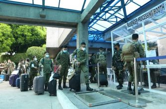 The Philippine Army has sent a medical team to Cebu, where COVID19 cases continue to rise, according to authorities./Philippine Army/