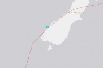 Quake shakes New Zealand's South Island, no damage reported