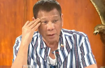 President Rodrigo Duterte late Monday announced the general community quarantine in Metro Manila was extended until the end of the month./PCOO/