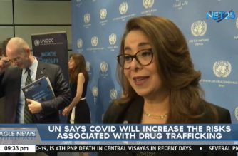 UN says Covid will increase the risks associated with drug trafficking