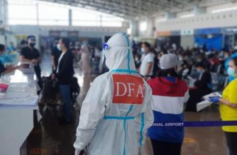 Over 600 Filipinos from the United Arab Emirates arrived in the country on Tuesday, June 30./DFA/