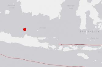 6.6-magnitude quake strikes off Indonesia: USGS
