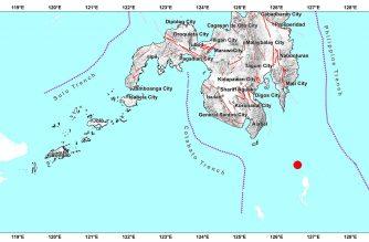 4.8-magnitude quake strikes off Davao Occidental