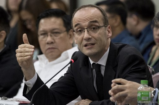Sanofi VP Triomphe says Dengvaxia not yet approved by EU