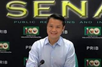 Senator Sherwin Gatchalian at the Kapihan sa Senado on Thursday, Feb. 22, 2018. Meanne Corvera/Eagle News Service/