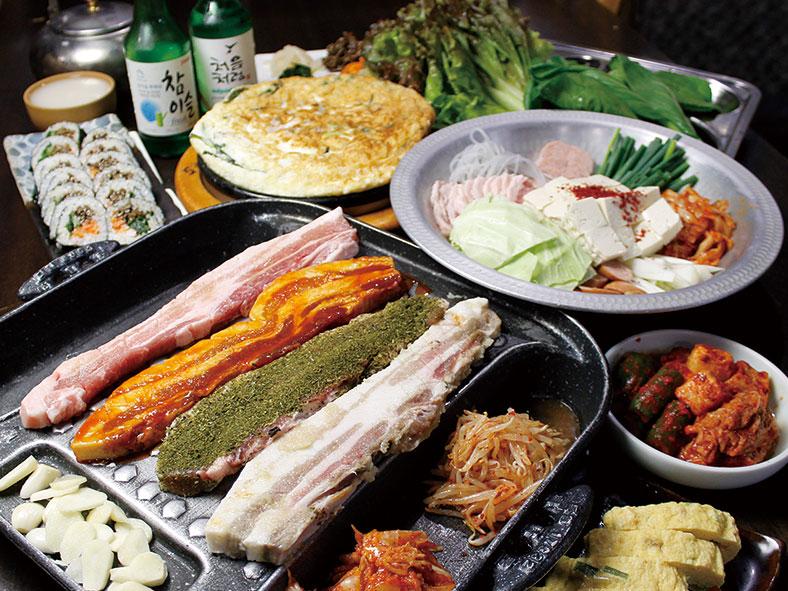 コリアンマチャ_コース料理