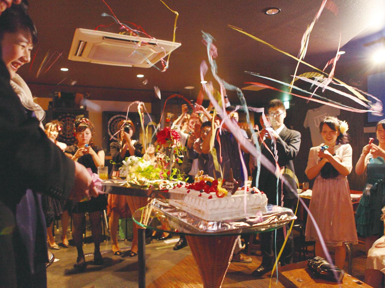"""""""マチナカならでは""""のイイことありマス! Happy ウエディング二次会 Happy Wedding Second Party"""