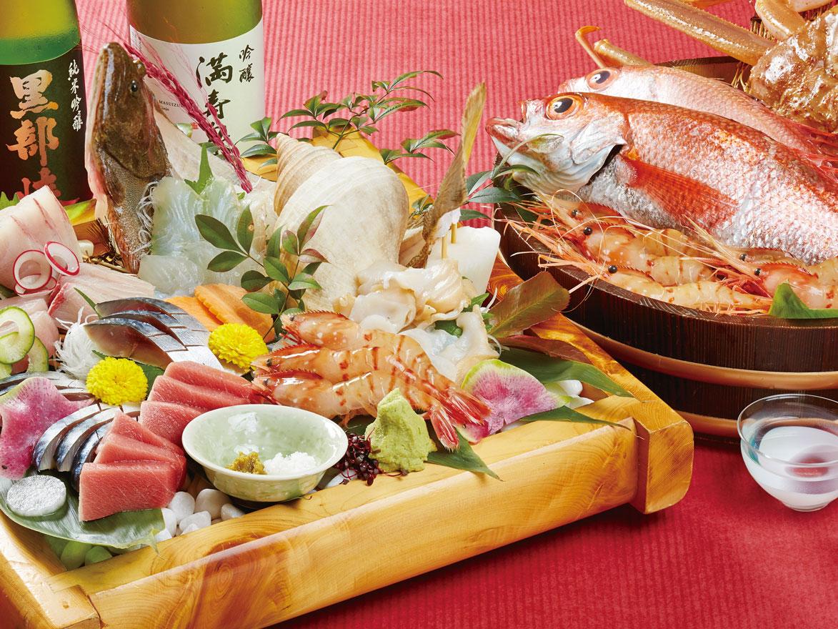 魚富_お造り