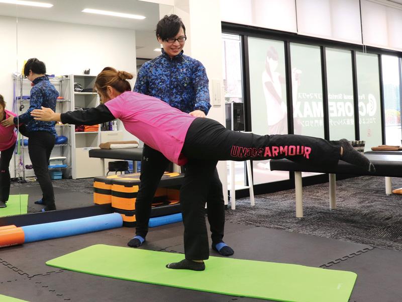 コアマックス_体幹トレーニング