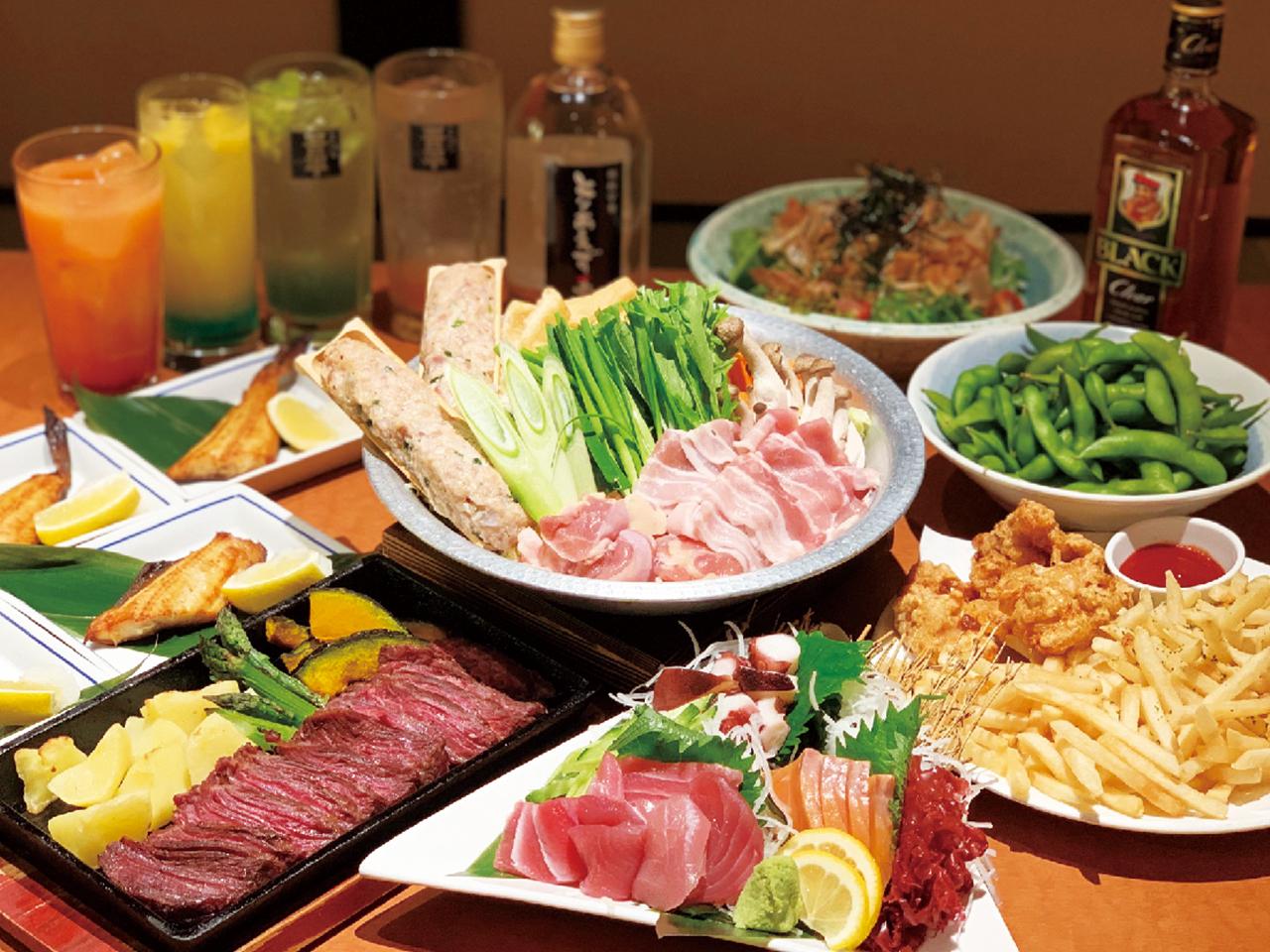 美味しい酒と料理に舌鼓 みんなで冬飲みならココ!