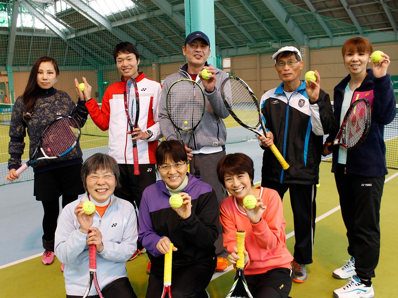 富山インドアテニススクール_集合