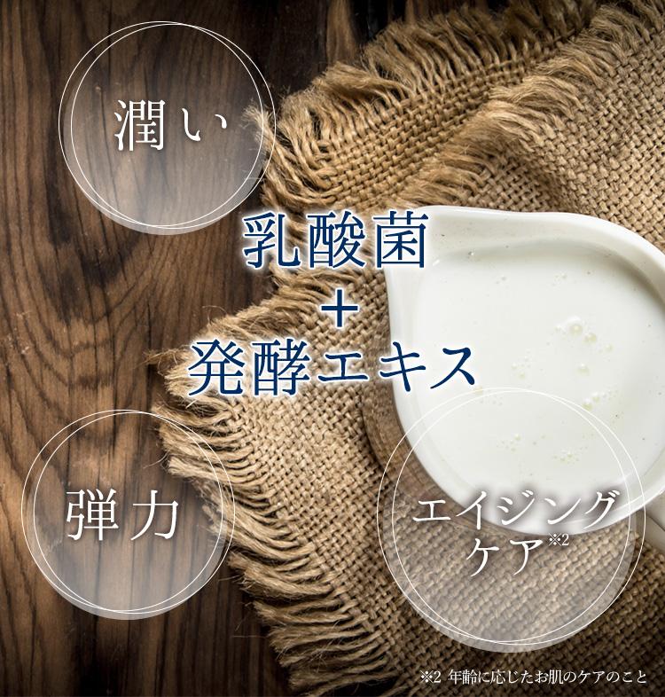 乳酸+菌発酵エキス