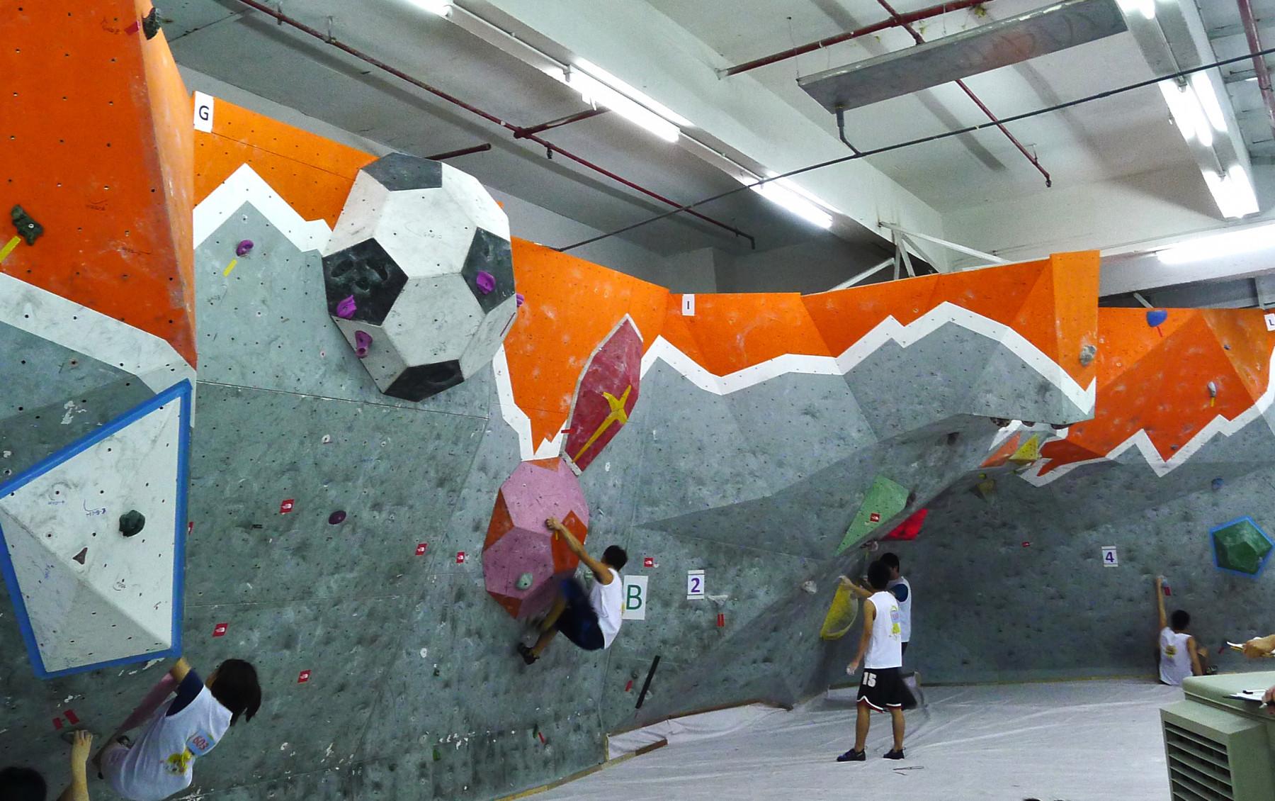 Play Concept - Hong Kong Bouldering Championships 2014 - 1