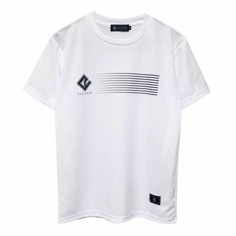 20200718224740533 ラインロゴプラtシャツ白