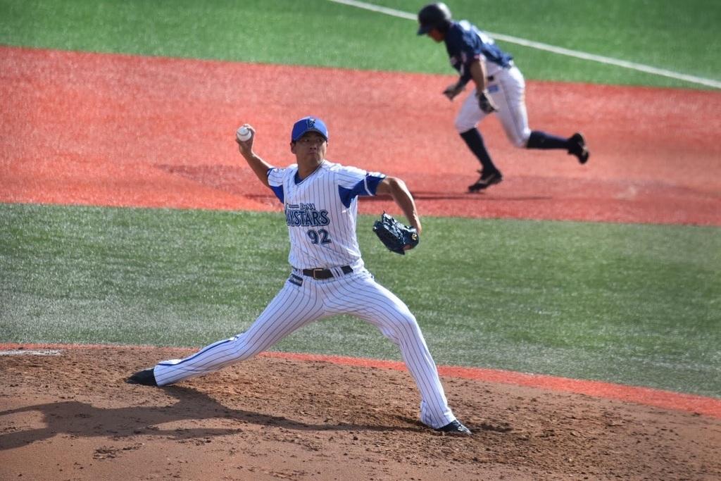 元横浜DeNAベイスターズの田村丈選手 (元プロ野球選手)