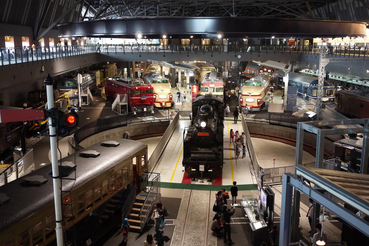 鉄道博物館の画像