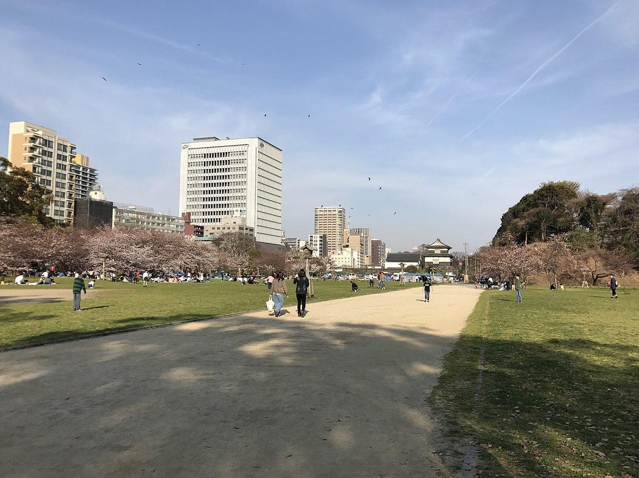 舞鶴公園(福岡城跡)の画像