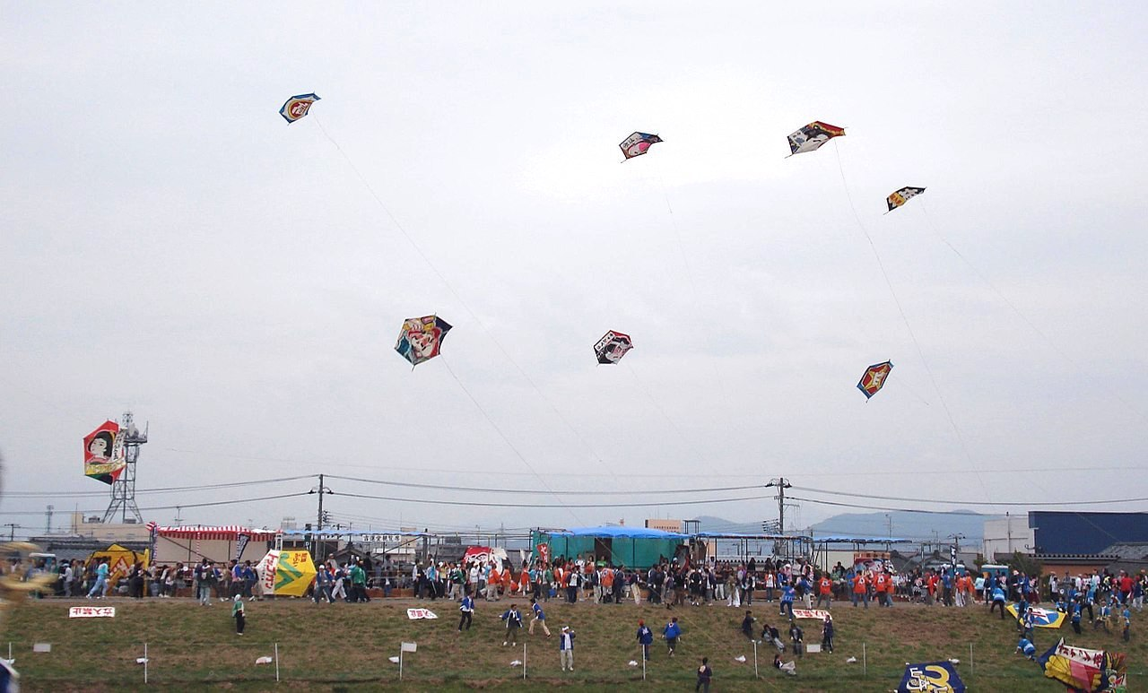 白根大凧合戦の画像