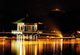 奈良大文字送り火の画像