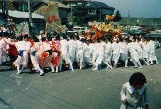 田後神社例大祭の画像