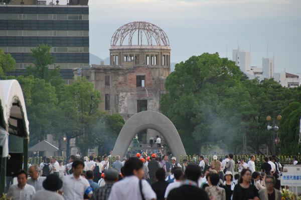 平和記念式典の画像