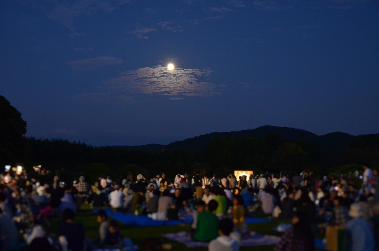 名月観賞会の画像