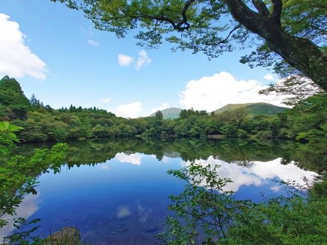 白雲の池Image