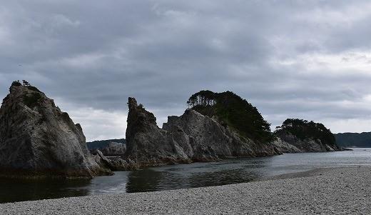 三陸海岸を代表する景勝地「浄土ヶ浜」