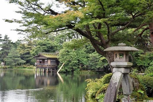 日本三名園の一つである兼六園
