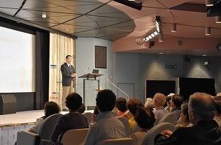 猪原絋太先生講演「地図を楽しむ」