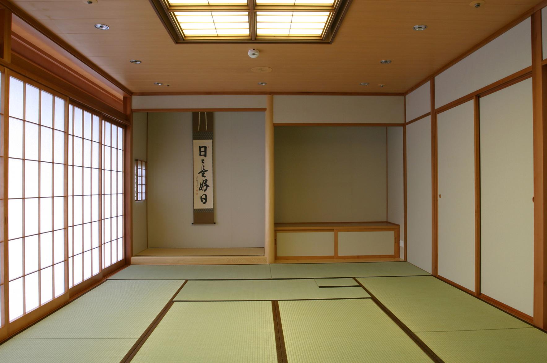 床の間をもつ本格的な和室
