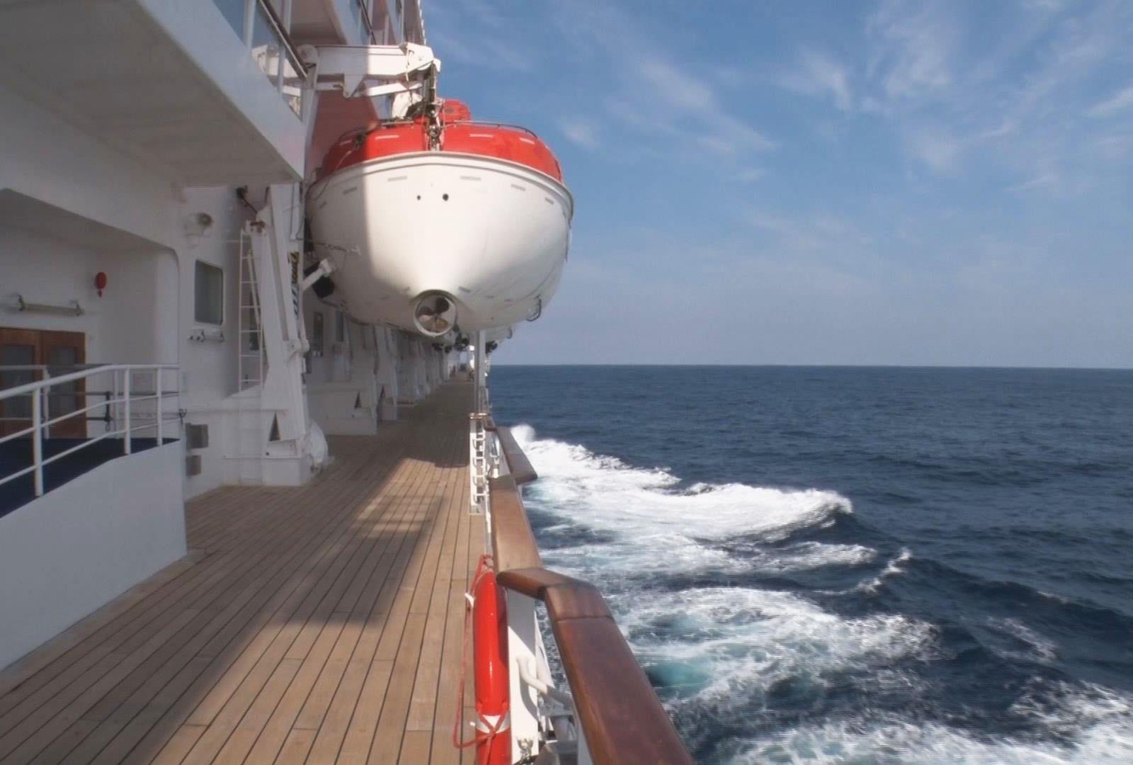 船旅だから見える風景