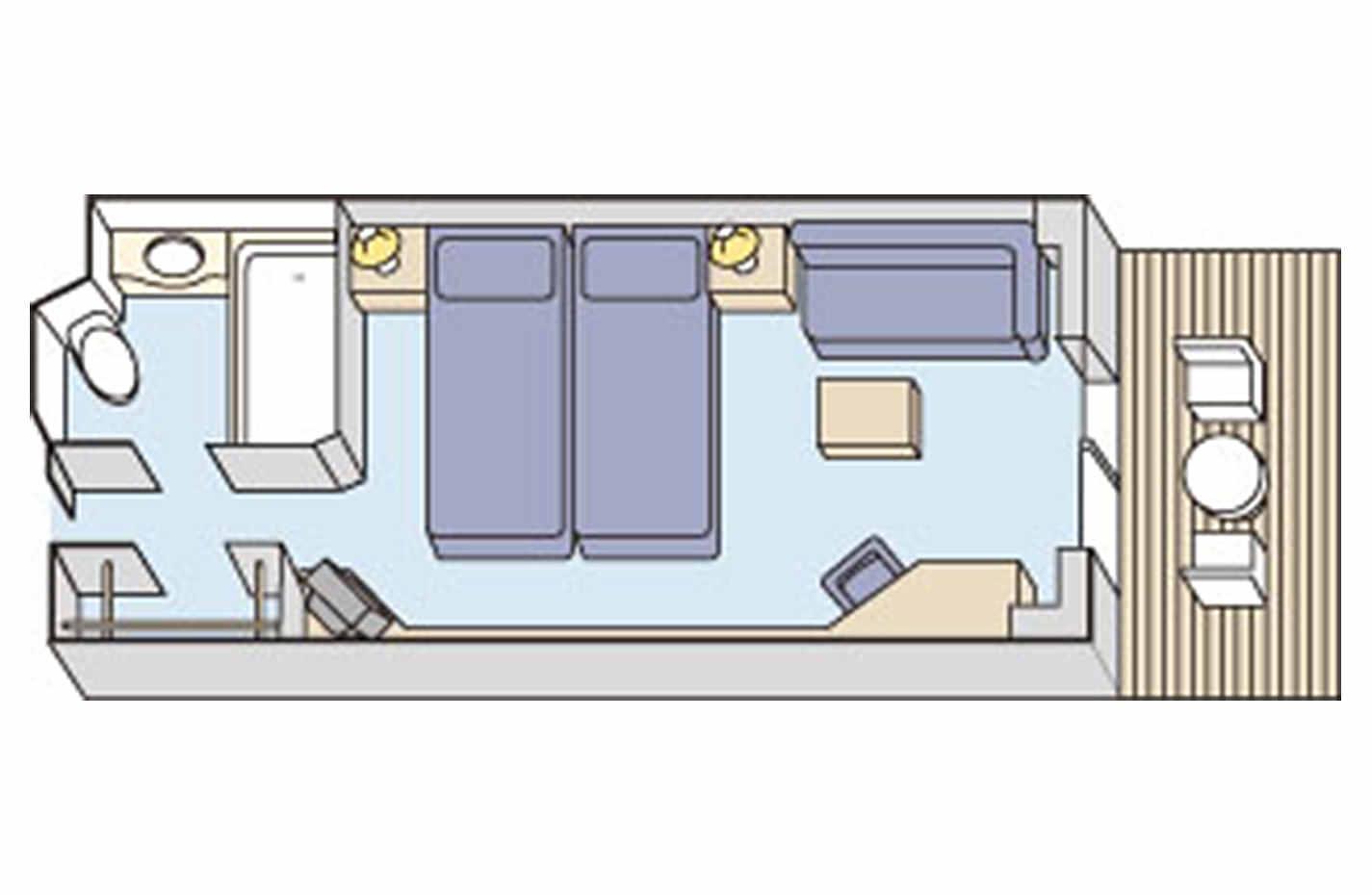 室内の間取り図