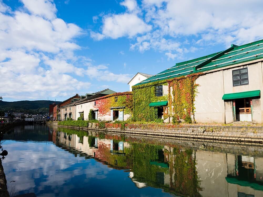 寄港地:小樽 ~歴史の面影を残す情緒ある町並み~