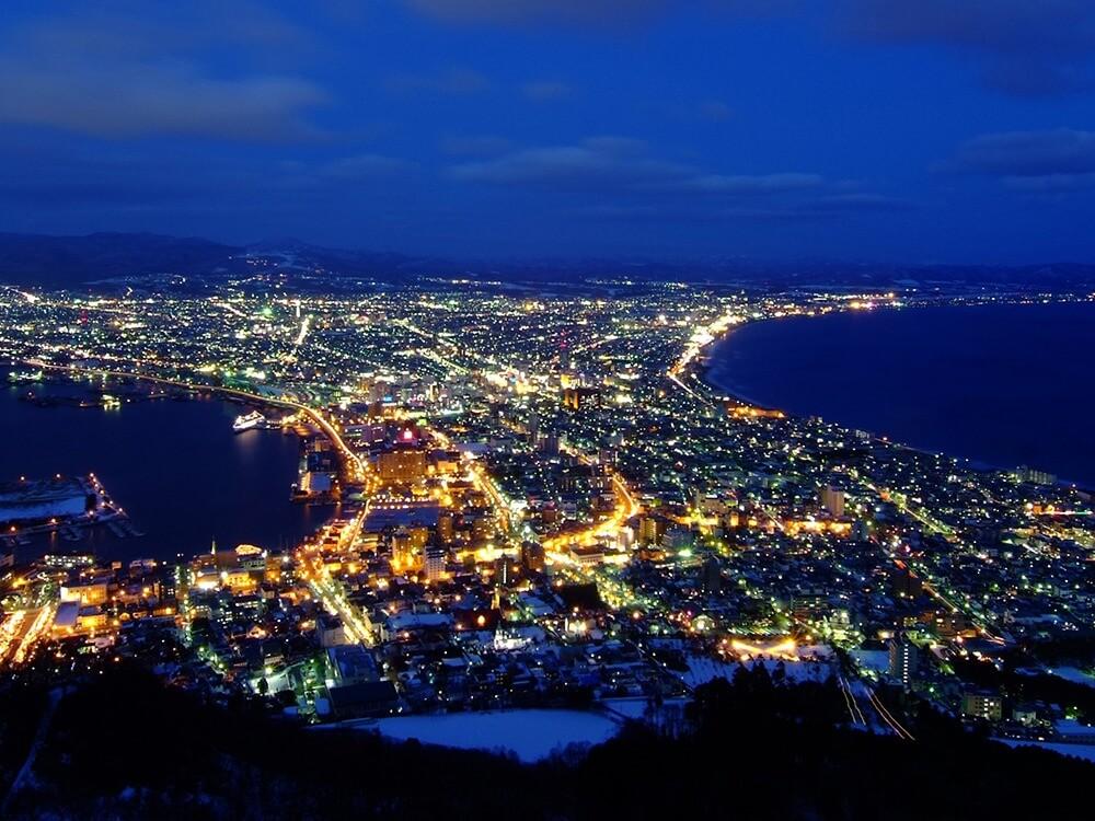 寄港地:函館 ~世界三大夜景に数えられる絶景~