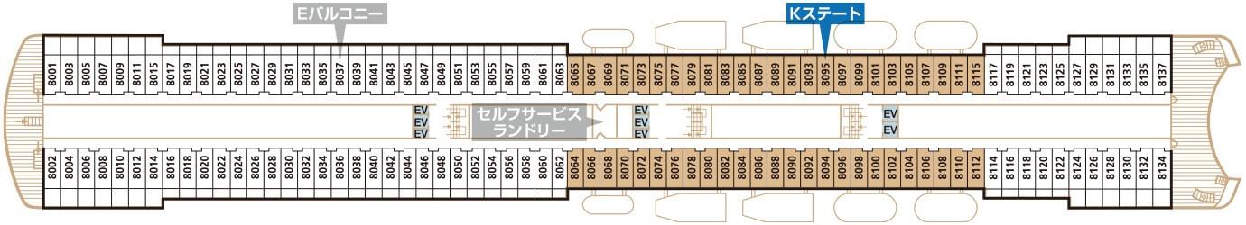 Deck8 スカイデッキ Kステート