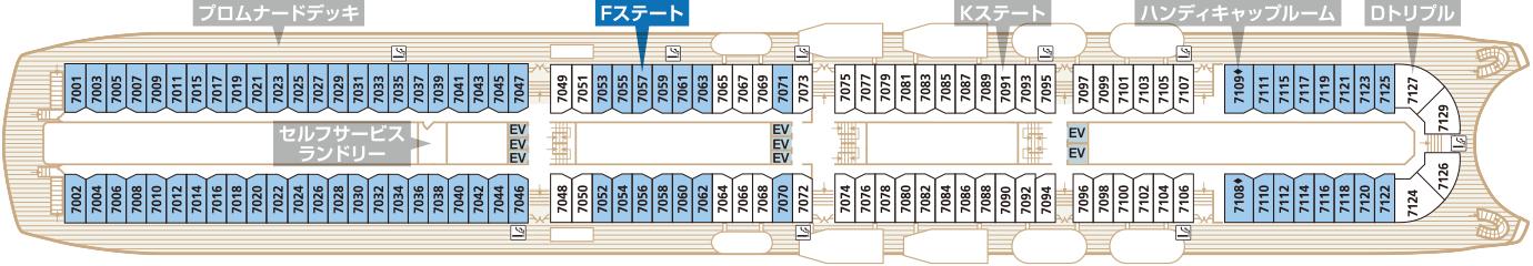 Deck7 プロムナードデッキ Fステート
