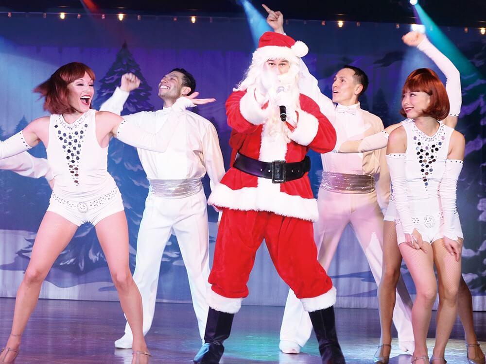 特別バージョンでお贈りする華麗なクリスマスショー