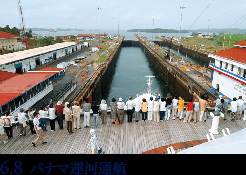 6.8 パナマ運河通航