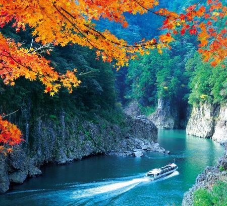 秋の瀞峡 (イメージ)
