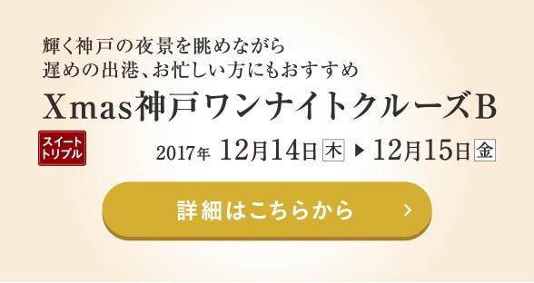 Xmas神戸ワンナイトクルーズB