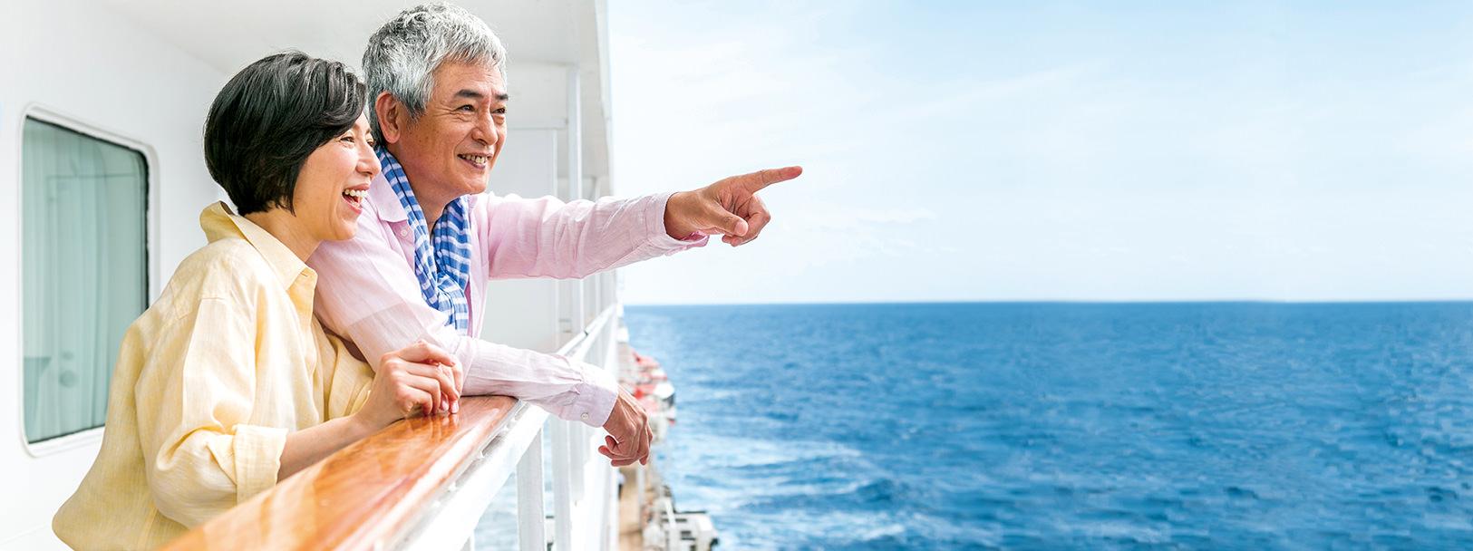 最高の船旅(世界一周クルーズ他)をあなたに 飛鳥クルーズ