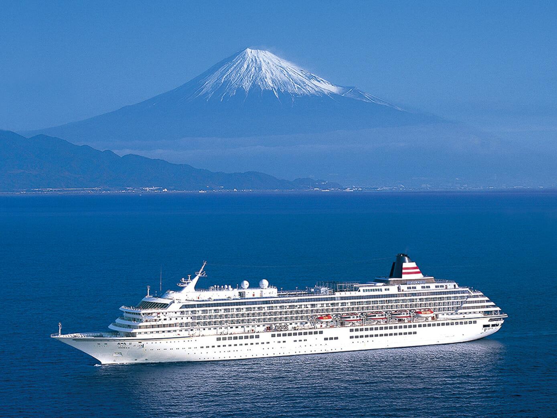 一年で最も美しい冠雪の富士と駿河湾の絶景