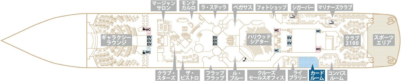 Deck6 プラザデッキ カードルーム