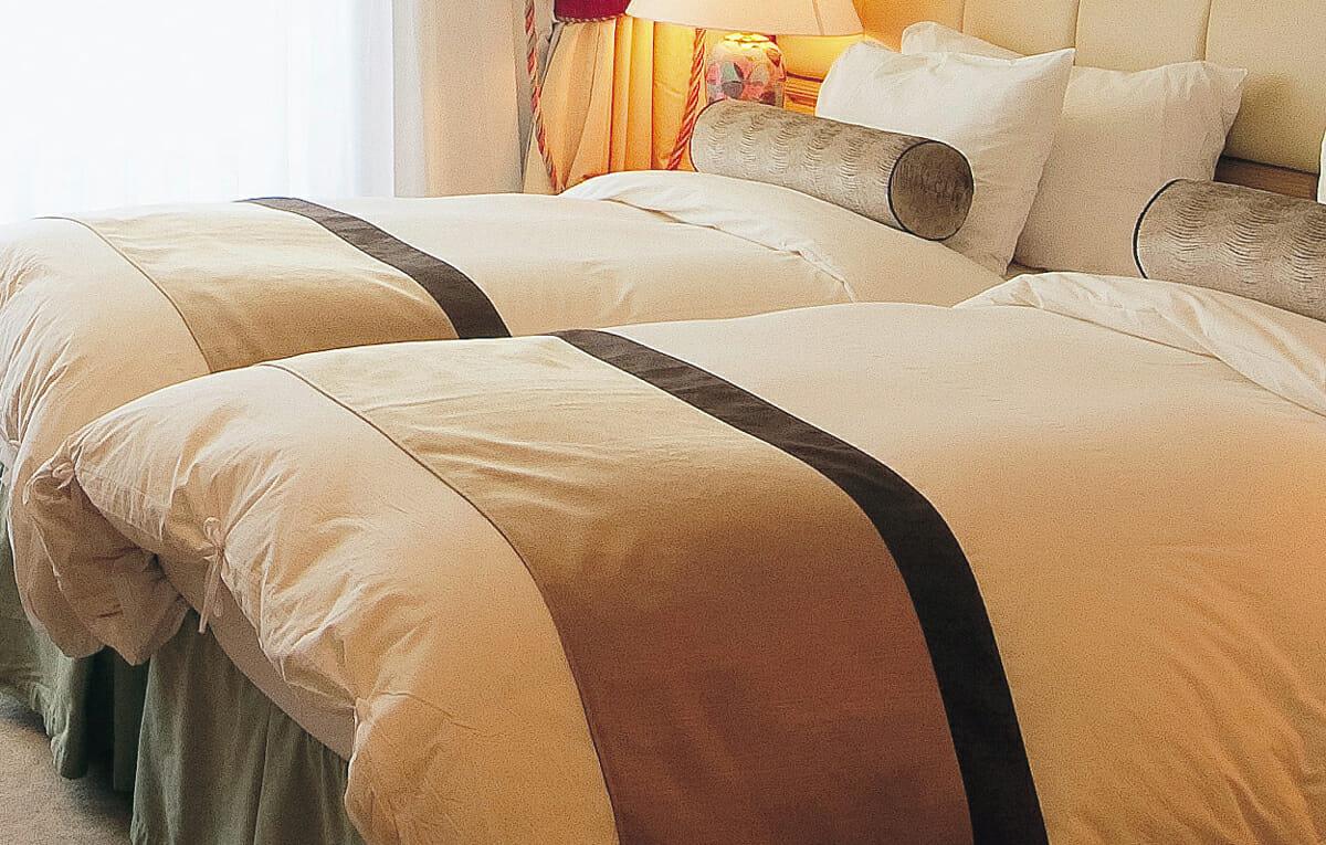 極上のベッドで穏やかな眠りを