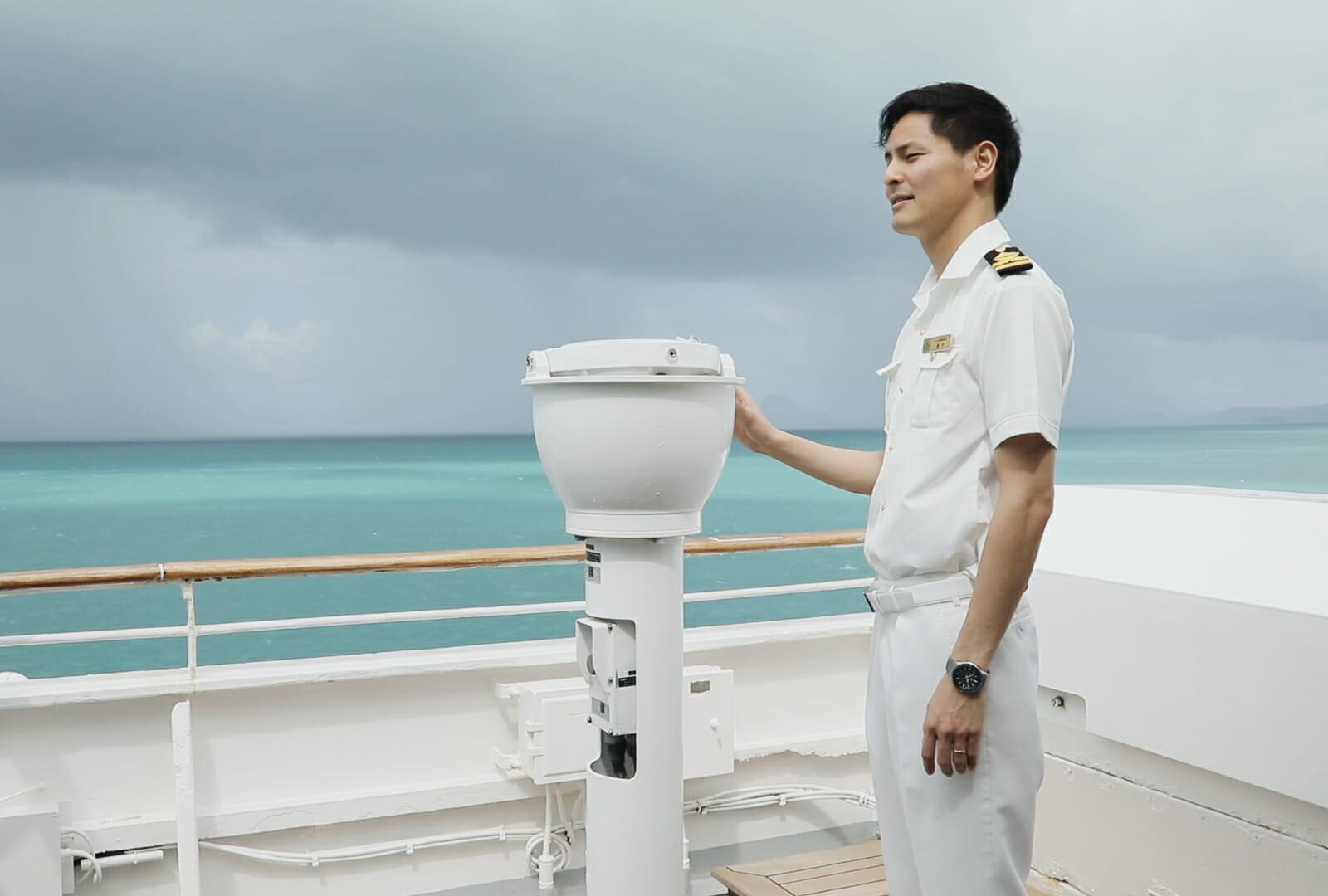 航海士が支えるクルーズ