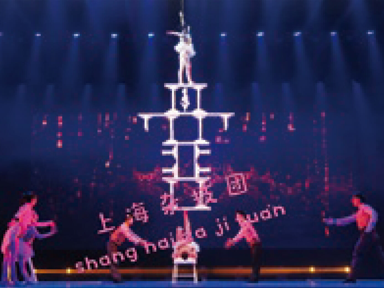 【クルーズ特典】<br>超人的で華麗な技に息をのむ<br>上海雑技団 観覧ツアー