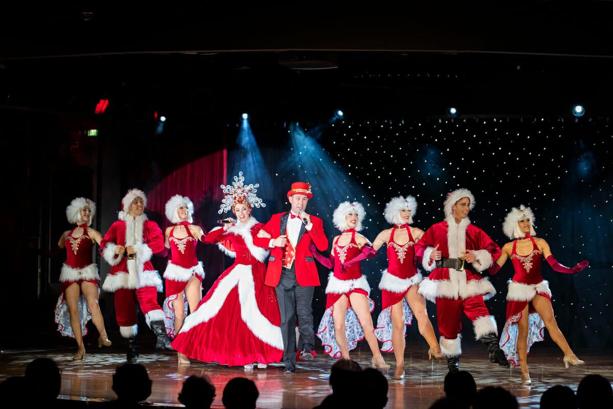 華麗なクリスマスショー