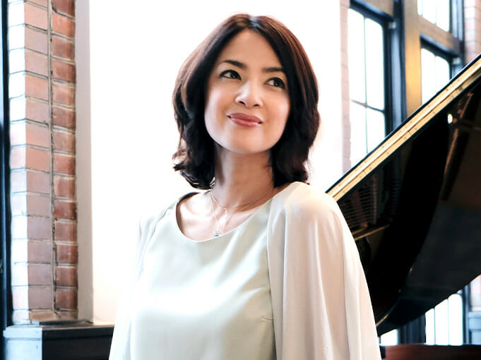 優しく語りかけるメロディ<br>西村由紀江(ピアニスト)